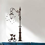 Animales Navidad Pegatinas de pared Calcomanías 3D para Pared Calcomanías Decorativas de Pared,Papel Material Decoración hogareña Vinilos