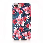 Etui Til Apple iPhone X iPhone 8 Matt Mønster Bakdeksel Blomsternål i krystall Hard PC til iPhone X iPhone 8 Plus iPhone 8 iPhone 7 Plus