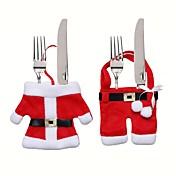 Comedor y Cocina Vacaciones Tema Fantástico Personas Boda Cumpleaños No Tejido Decoración navideña