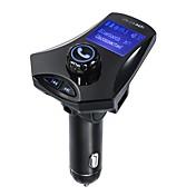m7s fm transmisor bluetooth fm transmisor coche de audio reproductor de mp3 manos libres coche tf ranura para tarjeta y cargador usb