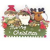 1pc Jul Julepynt, Feriedekorasjoner 38X26CM
