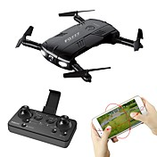 RC Drone FQ777 FQ777-05 4 Kanal 6 Akse 2.4G WIFI Med HD-kamera 2.0MP 1280P*720P Fjernstyrt quadkopter Mini LED Lys En Tast For Retur