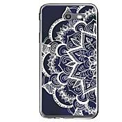 Funda Para Samsung Galaxy J7 V / J7 (2017) Diseños Funda Trasera Mandala Suave TPU para J7 V / J7 Perx / J7 (2017)