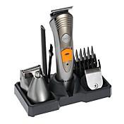 kemei km-580a barbermaskin barbermaskin 7 i 1 barbermaskin maskin nese øre hår trimmer elektrisk klipper oppladbar aveitadora menns