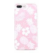 Etui Til Apple iPhone X iPhone 8 Ultratynn Mønster Bakdeksel Blomsternål i krystall Frukt Myk TPU til iPhone X iPhone 8 Plus iPhone 8