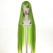 Pelucas de Cosplay Destino / Grand Order Enkidu Animé Pelucas de Cosplay 100 CM Fibra resistente al calor Mujer