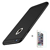 Funda Para Apple iPhone 8 iPhone 8 Plus Congelada Funda Trasera Color sólido Suave TPU para iPhone X iPhone 8 Plus iPhone 8 iPhone 7 Plus
