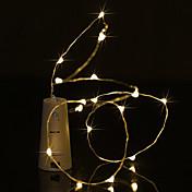 BRELONG® Lysslynger 5 LED Varm hvit Hvit Lilla Grønn Blå Vanntett <5V