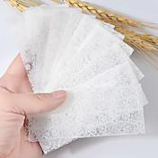 10pcs Etiqueta de encaje Plantilla de estampado de uñas Diario Moda Alta calidad