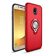 Funda Para Samsung Galaxy J7 (2017) J5 (2017) Soporte para Anillo Cubierta Trasera Color sólido Dura Policarbonato para J7 (2016) J7