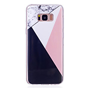 Etui Til Samsung Galaxy S8 Plus S8 IMD Bakdeksel Marmor Myk TPU til S8 Plus S8 S7 edge S7 S6 edge S6 S5 Mini S5