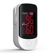 nøyaktig fs10d førte fingertopp pulsoksimeter oksymetri blod oksygenmetning monitor med batterier
