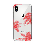 Etui Til Apple iPhone X iPhone 8 Plus iPhone 6 iPhone 7 Plus iPhone 7 Mønster Bakdeksel Landskap Myk TPU til iPhone X iPhone 8 Plus