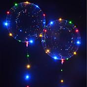 LED-belysning LED-ballonger Leketøy Ferie Fødselsdag Selvlysende Nytt Design Barne Voksne 1pcs Deler