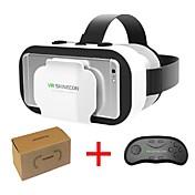 vr shinecon 5.0 glass virtuell virkelighet vr boks 3d briller for 4,7 - 6,0 tommers telefon med kontroller