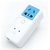 sonoff® s22 cn 10a 2200w wifi control remoto inalámbrico zócalo inteligente temporizador a través de la aplicación del teléfono con alexa