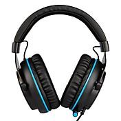 SADES R3 Cinta Con Cable Auriculares Dinámica El plastico De Videojuegos Auricular Con control de volumen / Con Micrófono Auriculares