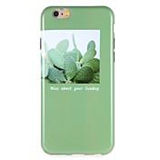 Etui Til Apple iPhone 6 iPhone 7 Mønster Bakdeksel Landskap Myk TPU til iPhone 7 Plus iPhone 7 iPhone 6s Plus iPhone 6s iPhone 6 Plus