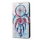 Etui Til Xiaomi Redmi Note 5A Redmi Note 4X Kortholder Lommebok med stativ Flipp Magnetisk Mønster Drømmefanger Hard til