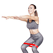 KYLINSPORT Resistansebånd til trening Med 1 pcs Gummi Styrketrening, Fysioterapi Til Yoga & Danse Sko / Pilates / Trening Hjem / Kontor