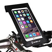 sykkel mobil montering stativ holder justerbar stativ mobiltelefon spenne type abs holder