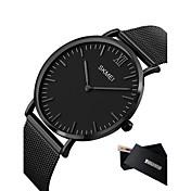 Hombre Reloj de Pulsera Reloj elegante Reloj de Vestir Reloj de Moda Reloj Deportivo Chino Cuarzo Calendario LED Esfera Grande Metal Banda