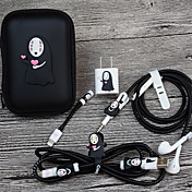 organizador de cables de gestión de cables abs iphone 8 plus / 7 plus / 6s plus / 6 plus