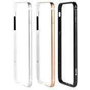 Etui Til Apple iPhone 8 / iPhone 8 Plus Støtsikker Støtsikker Ensfarget Hard Metall til iPhone 8 Plus / iPhone 8 / iPhone 7 Plus