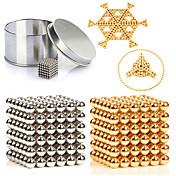 216 pcs 3mm Juguetes Magnéticos Bolas magnéticas / Bloques de Construcción / Puzzle Cube Metalic / Magnético Magnética Unisex Adultos Regalo