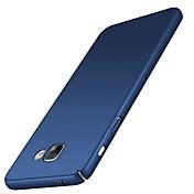 Funda Para Samsung Galaxy A7 (2018) A5 (2018) Ultrafina Funda Trasera Color sólido Dura ordenador personal para A5(2018) A7(2018) A3