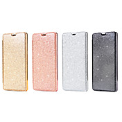 Etui Til Samsung Galaxy Note 8 Kortholder Flipp Heldekkende etui Helfarge Glimtende Glitter Hard PU Leather til Note 8
