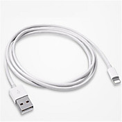 Belysning Høyhastighet / Hurtig kostnad Kabel iPhone til 200 cm Til TPE