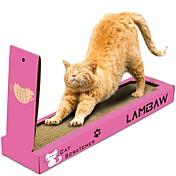 Cat Nip Camas Simple Amigable con las Mascotas Almohadilla para Arañar Sin Parabeno Sin Formol Cartón de papel Para Gatos