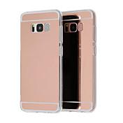 Etui Til Samsung Galaxy S9 Plus / S8 Plus Belegg / Speil / Ultratynn Bakdeksel Ensfarget Hard Akryl til S9 / S9 Plus / S8 Plus