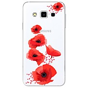 For Case Cover Pattern Back Cover Case Flower Soft TPU for Samsung Galaxy A3(2017) A5(2017) A7(2017) A7(2016) A5(2016) A8