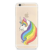 For Case Cover Ultra-thin Transparent Pattern Back Cover Case Unicorn Soft TPU for Apple iPhone X iPhone 8 Plus iPhone 8 iPhone 7 Plus