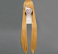 Косплэй парики Sailor Moon Sailor Venus Золотистый Длиные Аниме Косплэй парики 100 CM Термостойкое волокно Женский