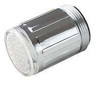 Стильный светодиодный кран, с хромированной отделкой для ванной комнаты