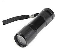 abordables -Lampes Torches LED Lampes de poche LED lm 1 Mode - Noir