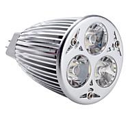cheap -350-450 lm GU5.3(MR16) LED Spotlight MR16 3 leds High Power LED Natural White AC 12V DC 12V