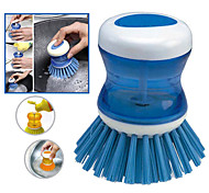 cheap -High Quality 1pc Plastic Cleaning Brush & Cloth Tools, Kitchen Cleaning Supplies