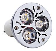 3w gu10 led spotlight mr16 3 высокой мощности привели 300-350lm теплый белый 3000k ac 85-265v