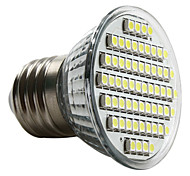 abordables -3W E26/E27 Spot LED MR16 60 SMD 3528 250-300 lm Blanc Naturel 6000K K AC 100-240 V