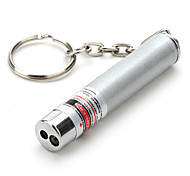 cheap -Keychain Shaped Laser Pointer 650nm Aluminum Alloy