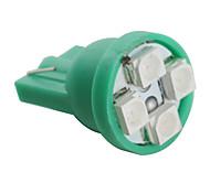 Недорогие -t10 3528 SMD 4-зеленый светодиод лампочка для автомобиля (12 В постоянного тока, комплект из 4 шт)