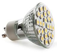 Недорогие -gu10 led spotlight mr16 24 smd 5050 150lm теплый белый 2800k ac 220-240v