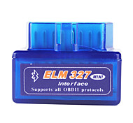 Недорогие -Super Mini Bluetooth ELM327 OBD2 V1.5 автомобиля диагностический инструмент интерфейс - Blue