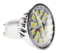abordables -6000 lm GU10 Focos LED MR16 20 leds SMD 5050 Blanco Natural AC 220-240V