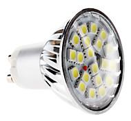 Недорогие -6000 lm GU10 Точечное LED освещение MR16 20 светодиоды SMD 5050 Естественный белый AC 220-240V