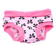 Недорогие -Собака Брюки Одежда для собак Бант Розовый Костюм Для домашних животных